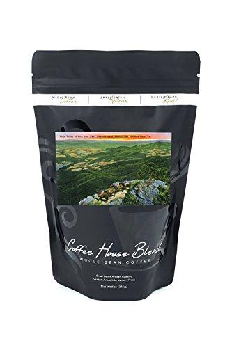 Shenandoah National Park, VA - Aerial View of Page Valley from Stony Man Mountain (8oz Whole Bean Small Batch Artisan Coffee - Bold & Strong Medium Dark Roast w/ - View Valley Va