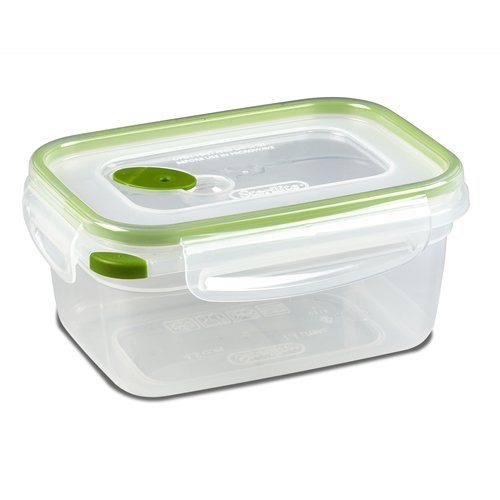 Sterilite Ultra•Seal 4.5 Cup Rectangle Container w/New Leaf Accents - (Accents New Leaf)
