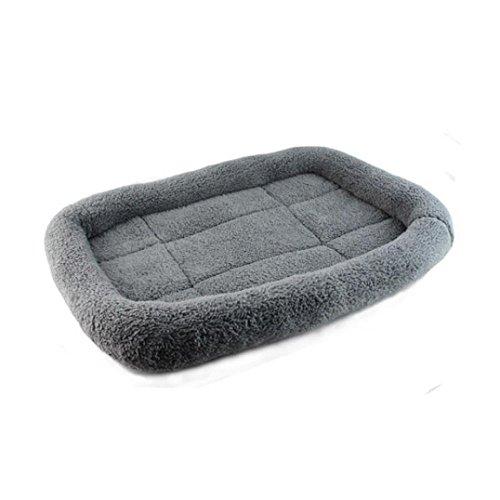Doggy Pad,Neartime Dog Blanket Pet Soft Cushion Cat Bed Warm Sleep Mat (Gray)