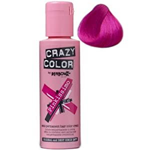 Renbow Crazy Colour Semi Permanent Hair Dye 100ml - No 42 PINKISSIMO