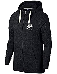 Women's Sportswear Gym Vintage Full-Zip Hoodie