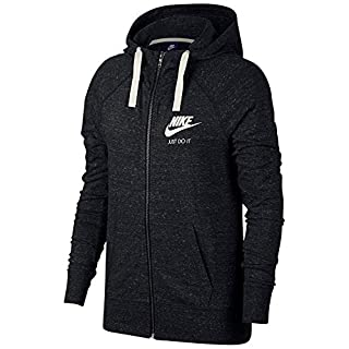 Nike Womens Sportswear Gym Vintage Women's Full-Zip Hoodie 883729-010 (M)