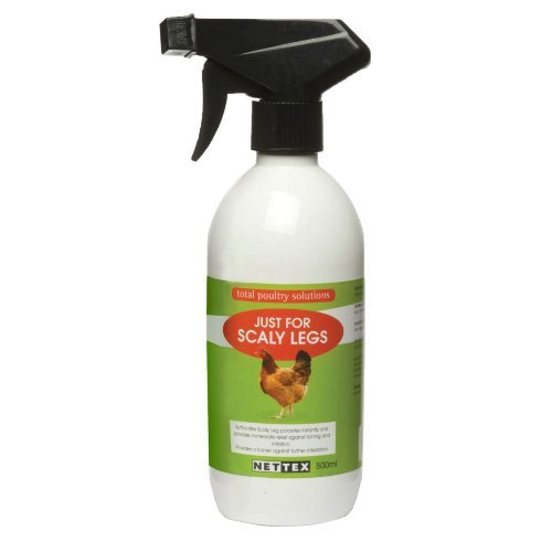 Net-tex Just For Scaly Legs Poultry Parasite Kill Spray 500ml by Net-Tex