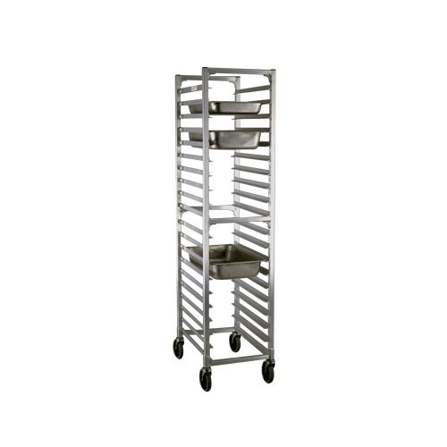Newage Industrial 1505 Steam Table Pan Rack, Full Size, 20 Pan Capacity, 3'' Spacing, End Load