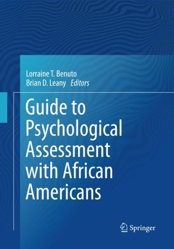 Search : Guide to Psychological Assessment with African Americans