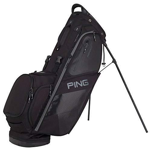 PING 2018 Hoofer 14 Carry Stand Golf Bag, Black