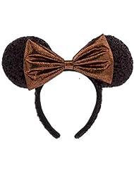 Disney Parks - Minnie Ears Headband - Belle Bronze Bow