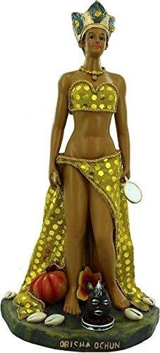 13 Inch Statue of Orisha Oshun Ochun Santeria Yoruba Our lady of Charity