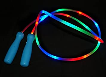 Light up skipping rope amazon toys games light up skipping rope aloadofball Choice Image
