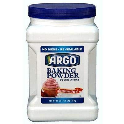 Argo Baking Powder 1Pack (60 oz ) beverages
