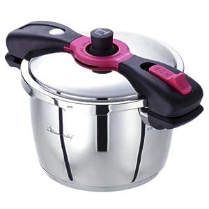 ワンダーシェフ 魔法のクイック料理 両手圧力鍋 5.5L
