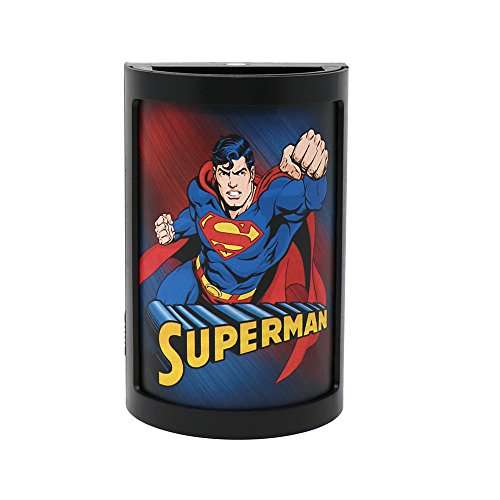 Party Animal DC Comics LED Night Light, 5'' x 3'', Superman by Party Animal
