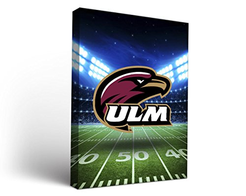 UPC 602464090537, Louisiana Monroe Haws Canvas Wall Art Stadium Design (36x48)