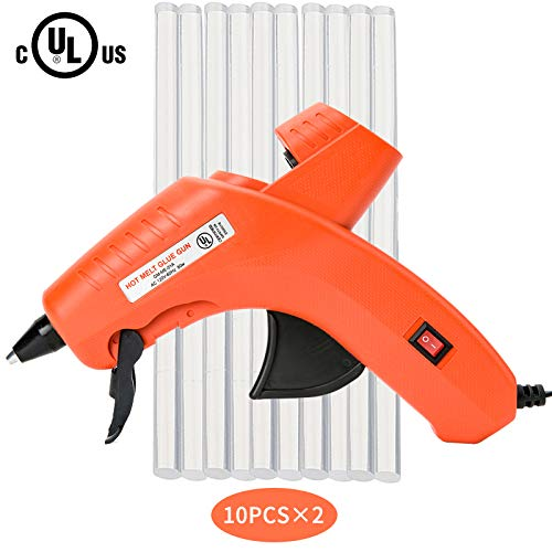 Hot Glue Gun,Full Size (Not Mini) 80W Power High Temp Heavy Duty Melt Glue Gun Kit for PDR,DIY Small Projects,Arts and Crafts,Home Quick Repairs,Artistic Creation