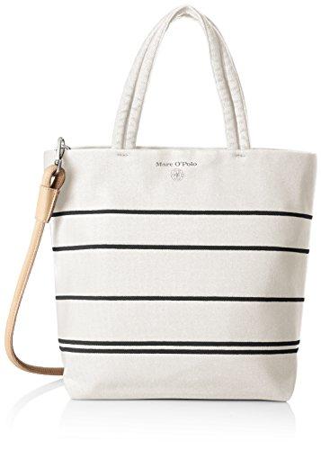 Marc O'Polo Ns Shopper - Shoppers y bolsos de hombro Mujer Blanco (Offwhite)
