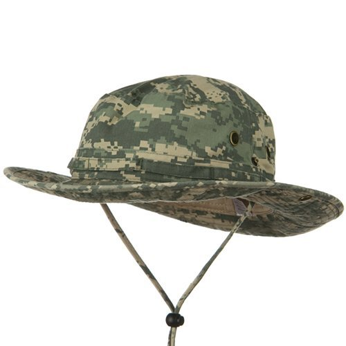 Washed Hunting Hat-Digital Camo W11S41F (XL-2XL)