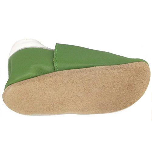 Bobux - Patucos para niña Verde - verde (FERN)