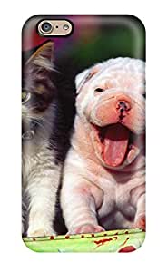 Quality ZippyDoritEduard Case Cover With Cat And Dog Nice Appearance Compatible With Iphone 6