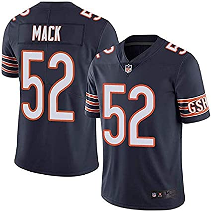 official photos 99daa af6ed Mitchell & Ness Chicago Bears Khalil Mack Navy Game Men's Jersey (XL)