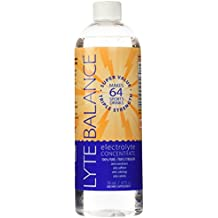 Lyte Balance | Electrolyte Concentrate | Triple Strength | Supercharged Hydration | Hangover Helper | No Additives, No Sweeteners | Potassium + Magnesium | 64 Servings | 16 oz