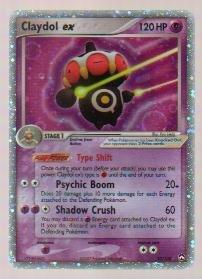 2007 Pokemon EX Power Keepers Holo Claydol ex #93/108