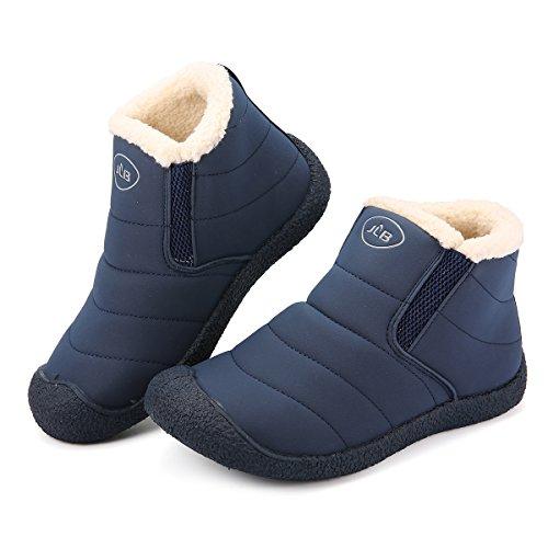 gracosy Women's Boots Blue zEaBfFi