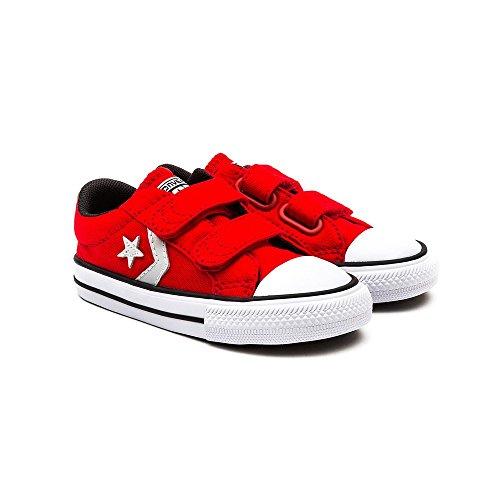 Zapatillas para niño, color Rojo , marca CONVERSE, modelo Zapatillas Para Niño CONVERSE STAR PLAYER EV 3V Rojo / Blanco