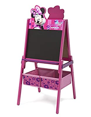 Wooden Double Sided Activity Easel with Storage