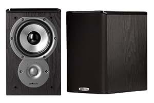 Polk Audio TSi100 Bookshelf Speakers (Pair, Black)