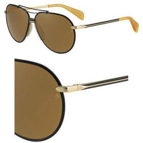 Amazon.com: Gafas de sol Rag & Bone Rnb 5008/S 0I46 negro ...