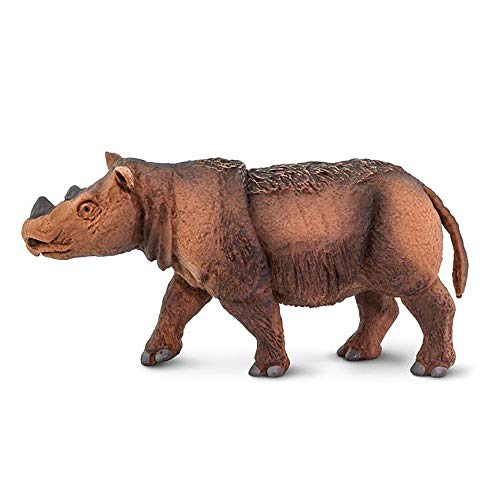 Wooly Rhino - Safari Ltd. Wildlife - Sumatran Rhino - Phthalate, Lead and BPA Free - for Ages 3+
