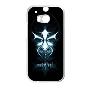Cute Skull Endeffect personalized creative custom protective phone case for HTC M8 wangjiang maoyi by lolosakes