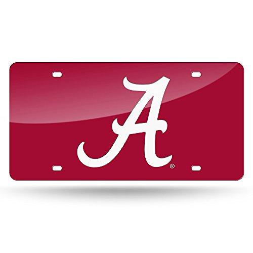LZC150101 Alabama Crimson Tide NCAA Laser Cut License Plate Cover ()