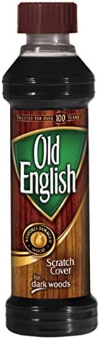 Old English Scratch Cover For Dark Woods 8 fl oz Bottle Wood Polish / Old English Scratch Cover For Dark Woods 8 fl oz Bottle Wood Polish