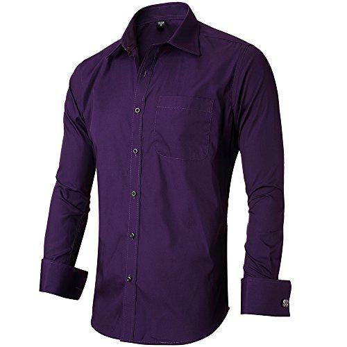 dress shirts with cufflinks - 9