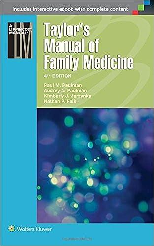 Taylors manual of family medicine taylors manual of family taylors manual of family medicine taylors manual of family practice fourth edition fandeluxe Choice Image