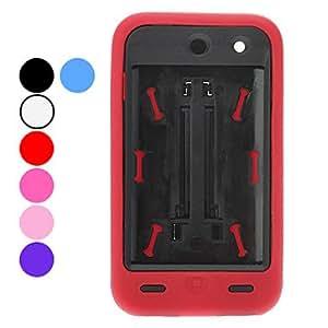 compra Defender Series Back Case ABS híbrido con cubierta de silicona y soporte para el iPod touch 4 (colores opcionales) , Azul