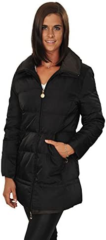 Mansion Jacket Women's Black Gold Colours Polyamid Casual 48 IT