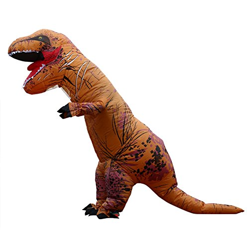 Inflatable T Rex Costume For Sale (T-REX Dinosaur Inflatable Costume Suit Adult Halloween Cosplay Costume Fancy Dress)