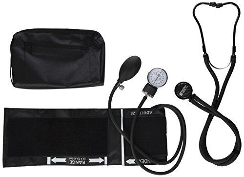 Prestige Medical Premium Aneroid Shygmomanometer Sprague Kit, Stealth