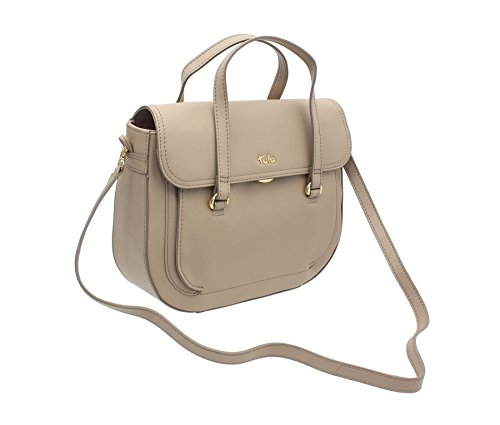 Tula Box 8153 Beige Beautiful Bag Leather Pillar Grab Collection Dress rrqYAz