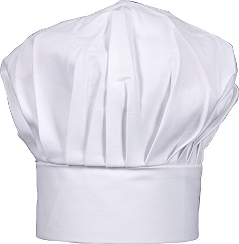 Gourmet Classics Adult Size Adjustable Chef Hat