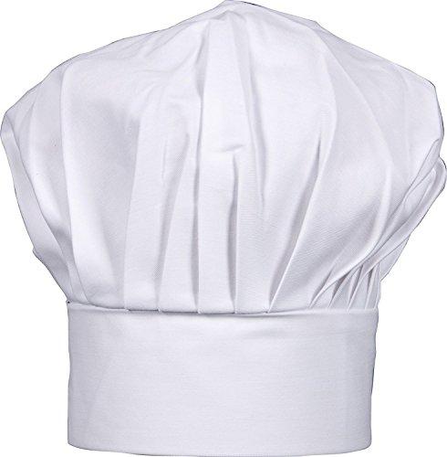 HIC Harold Import Co. Gourmet Classics Adult Size Adjustable Chef Hat
