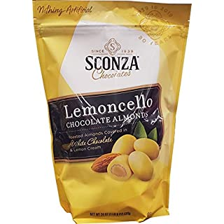 Sconza Lemoncello Almonds, 24 Oz - SET OF 4