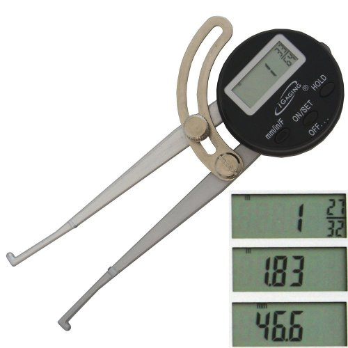 iGaging 6'' Digital Internal Inside Caliper ID for Woodworking by iGaging