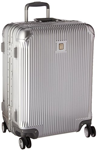 it luggage Crusader 25.6' Hardside 8-Wheel Spinner, Silver