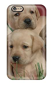 High Quality Mary Elizabeth Mihas Labrador Retriever Puppies Skin Case Cover Specially Designed For Iphone - 6