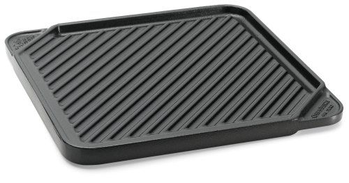 Chef's Design Single Burner Reversible Grill/Griddle (Reversible Cast Griddle Square Grill)
