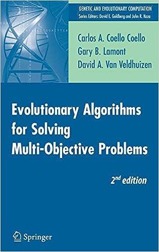 Amazon com: Evolutionary Algorithms for Solving Multi-Objective