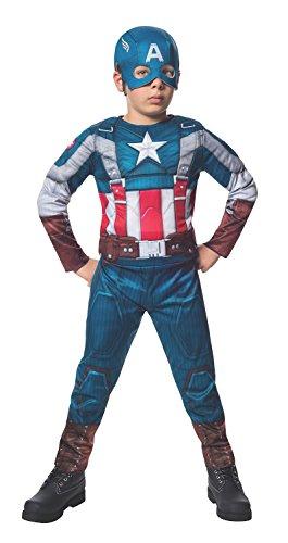 The Winter Soldier Suit Captain America Costume, Child (Captain America Costume Kids Girl)
